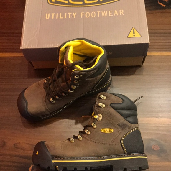 3756d4bc83 Keen Shoes | Soft Toe Utility Boot Milwaukee Wide | Poshmark